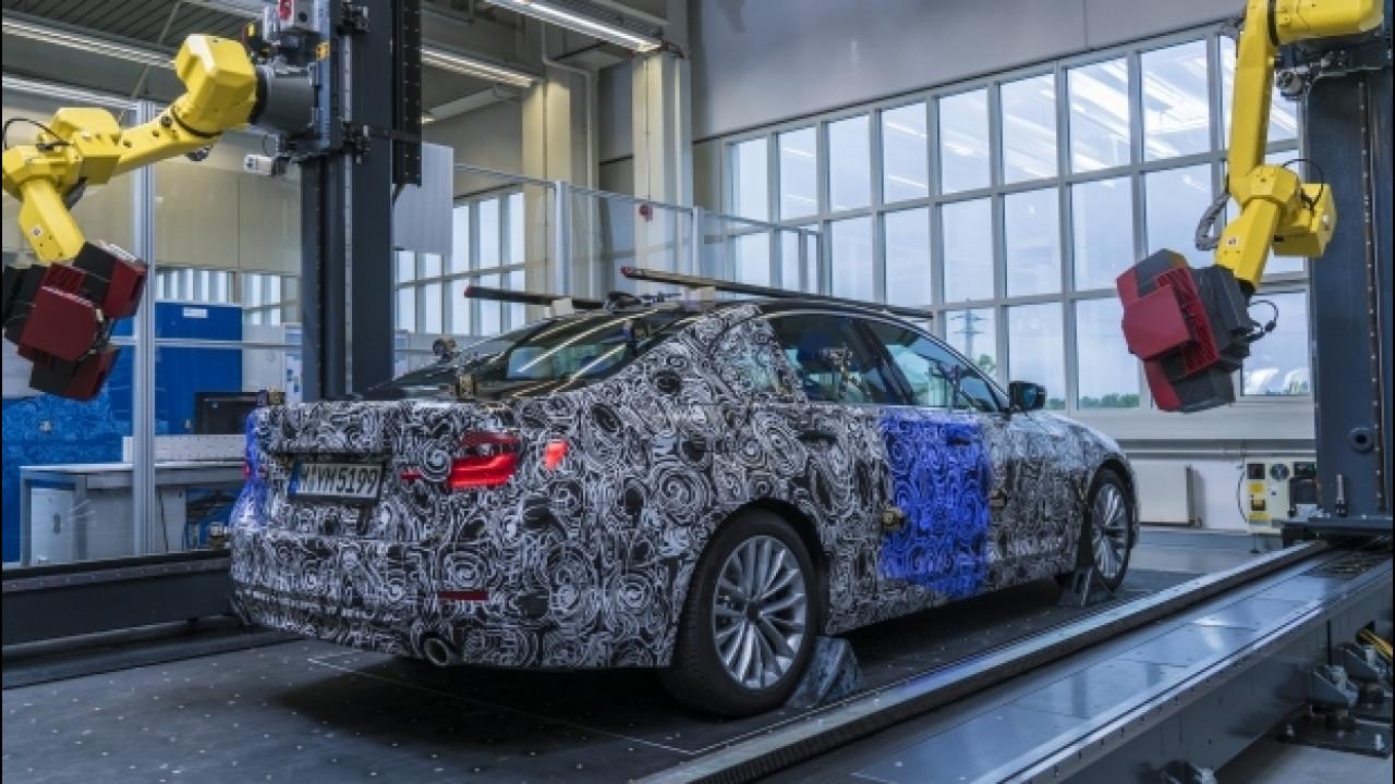 [Copertina] - BMW, le foto della Serie 5 in fase di collaudo