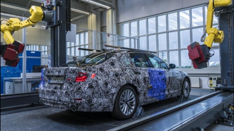 BMW, le foto della Serie 5 in fase di collaudo