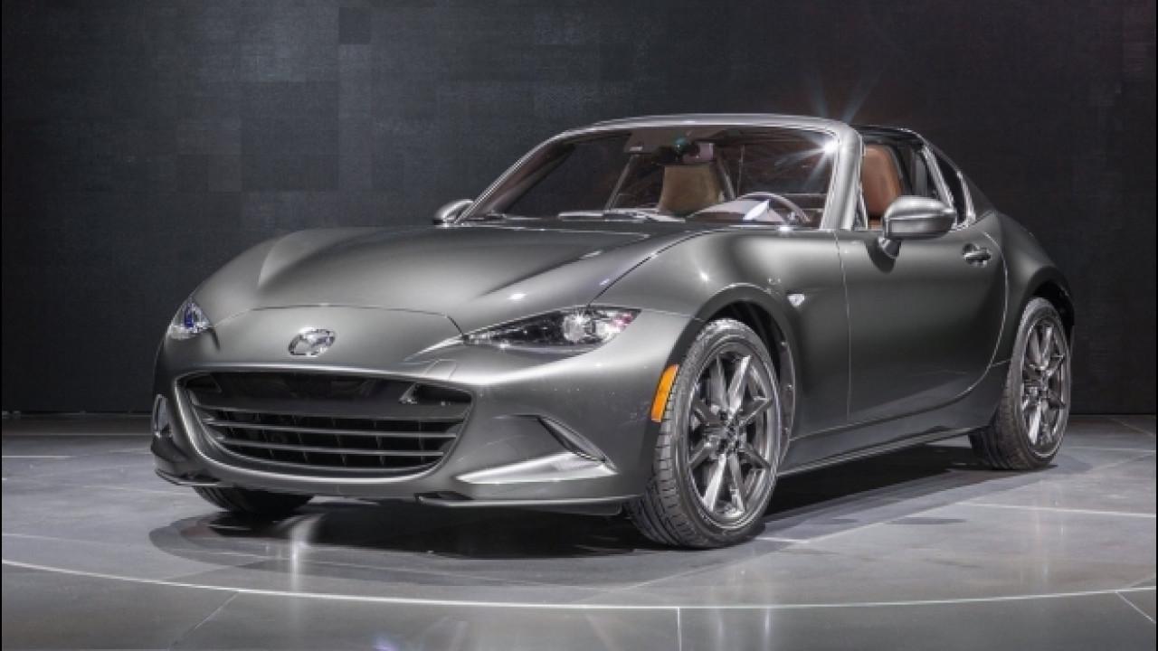 [Copertina] - Mazda MX-5 RF, l'edizione di lancio è per pochi selezionati