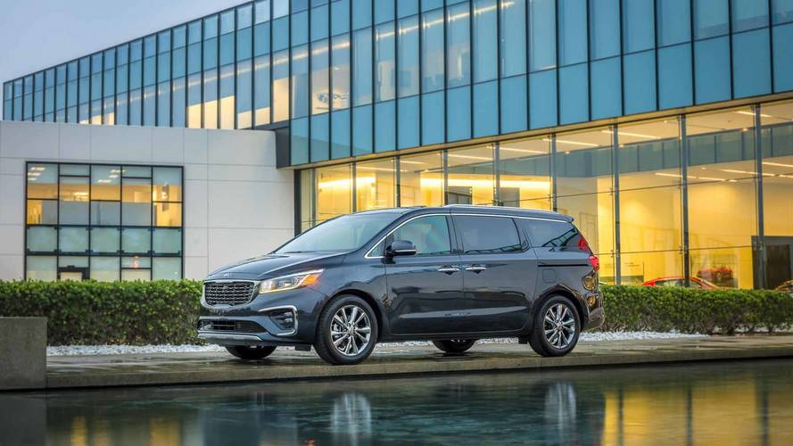 Refreshed 2019 Kia Sedona Arrives In NY With New 8-Speed Auto