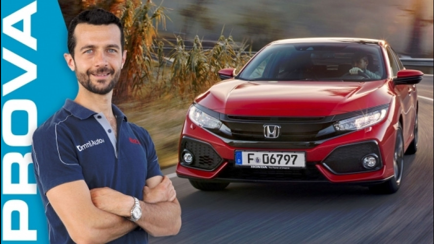 Nuova Honda Civic, si è data allo sport [VIDEO]