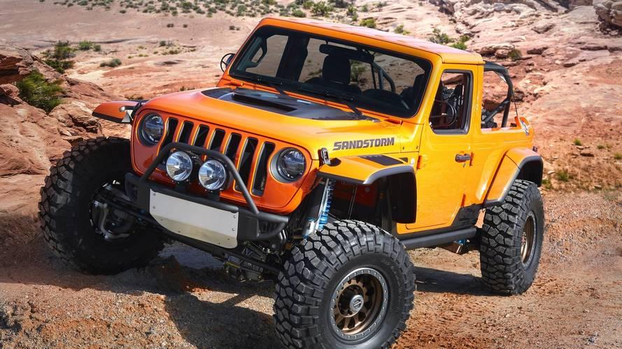 Jeep, 7 concept per affrontare il deserto