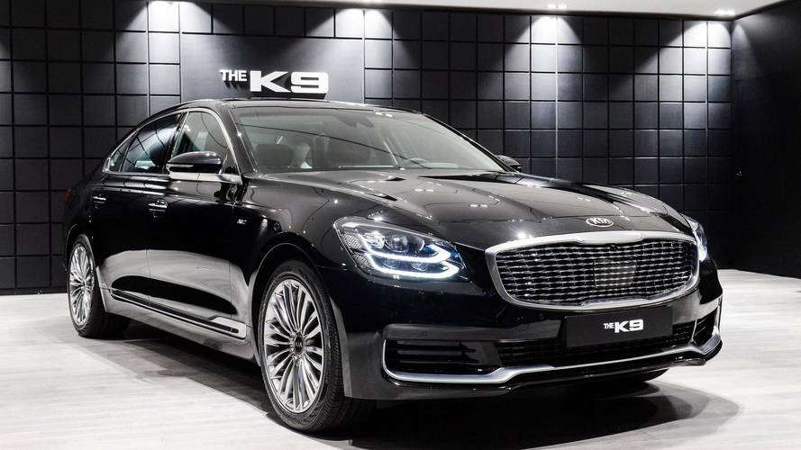 New Kia K900 Officially Revealed As K9 For South Korea