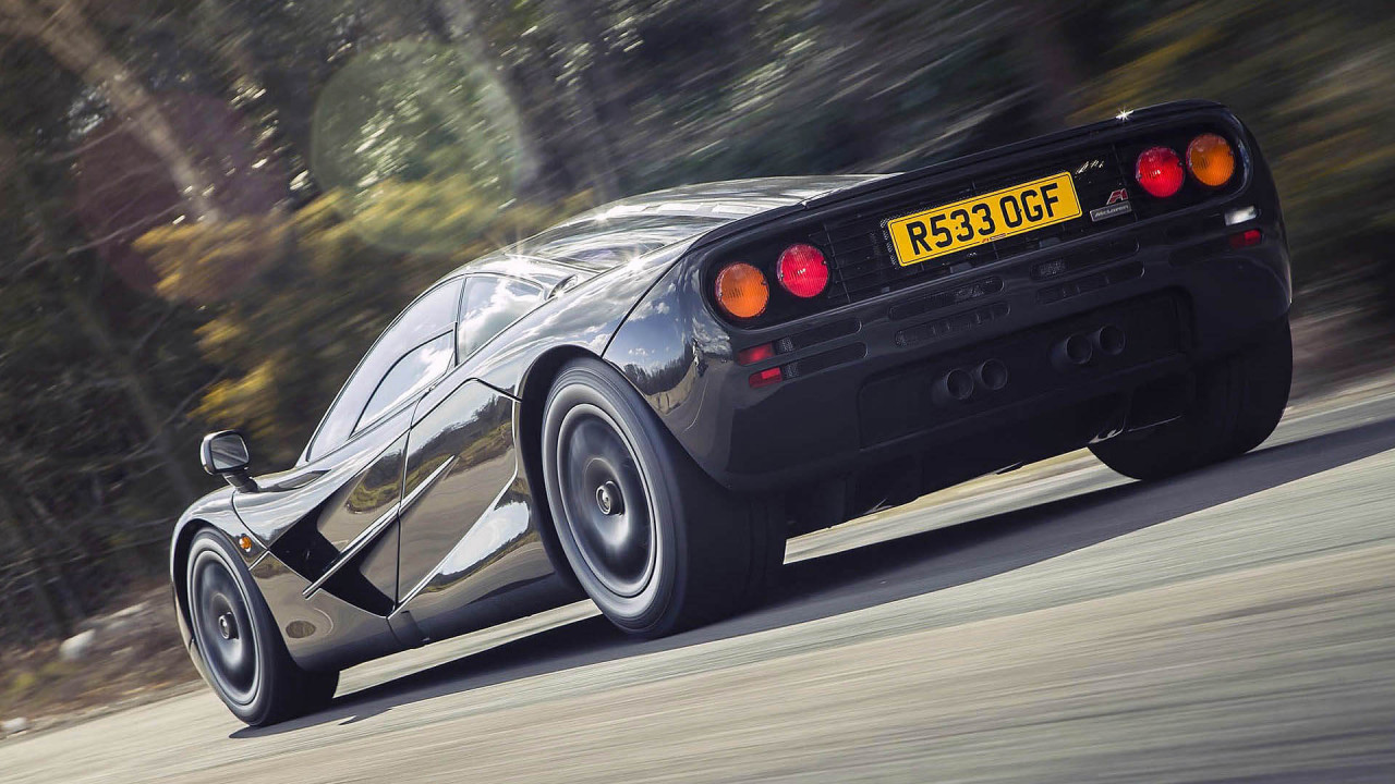 McLaren F1: 386 km/h