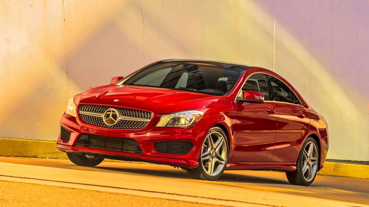 10. Mercedes-Benz CLA