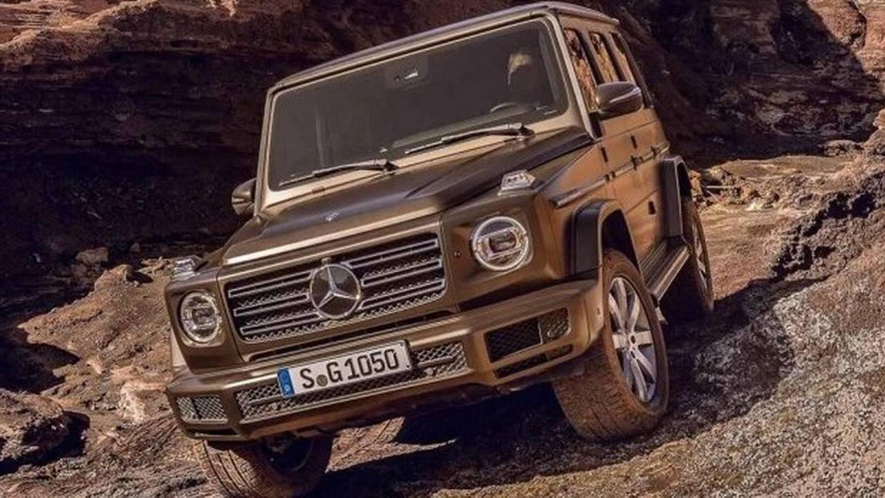 2018 Mercedes G Serisi sızan fotoğraflar