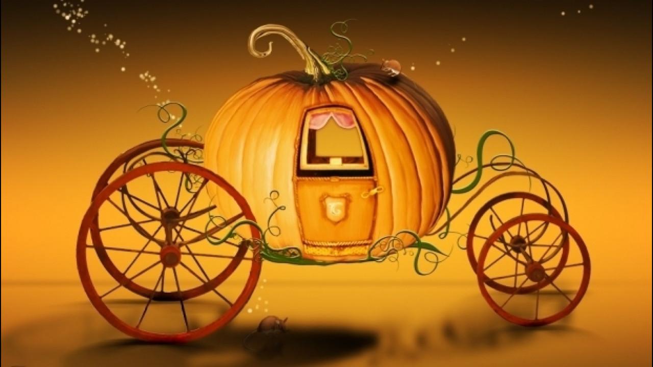 [Copertina] - Halloween, ecco le auto che vestono d'arancio