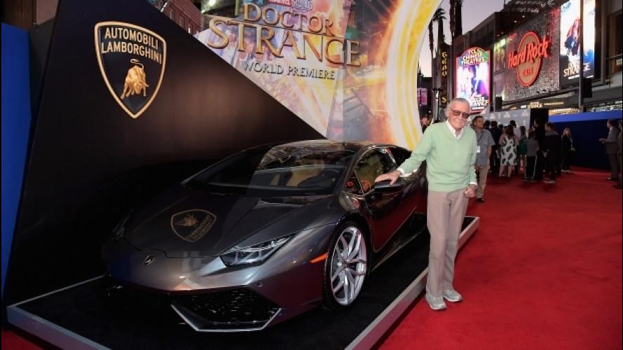 Doctor Strange, il mago della Marvel sceglie Lamborghini [VIDEO]
