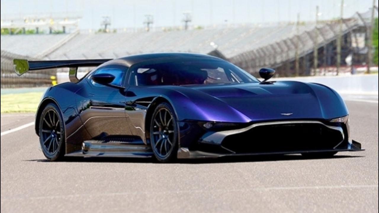 [Copertina] - Aston Martin Vulcan, all'asta la belva da 831 CV