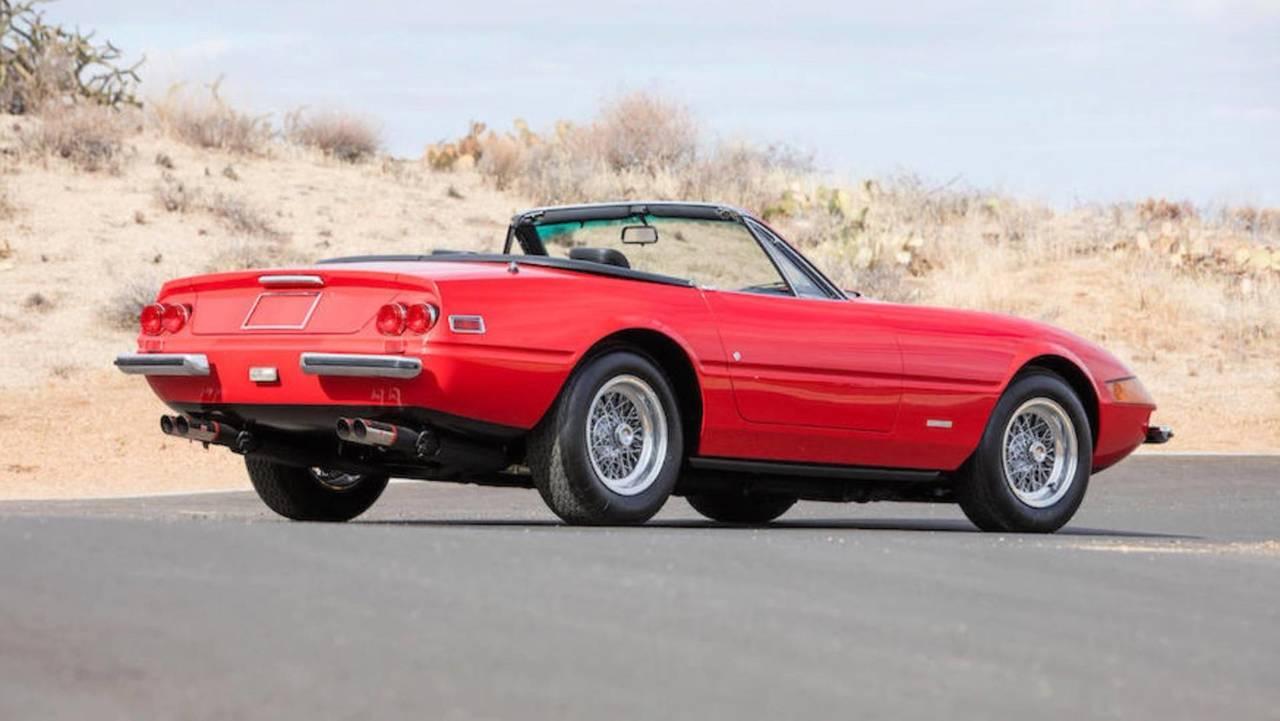 6. 1972 Ferrari 365 GTS/4 Daytona Spider: $2,640,000