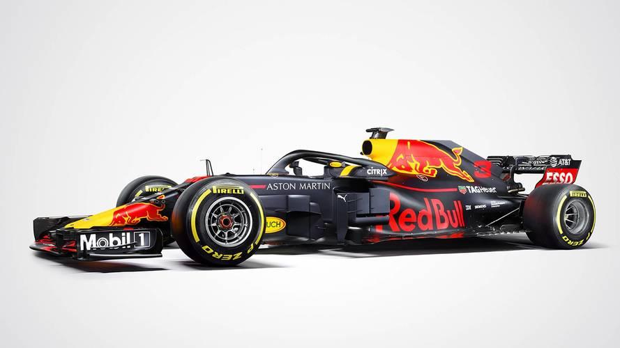 Red Bull F1 2018, ecco la livrea ufficiale