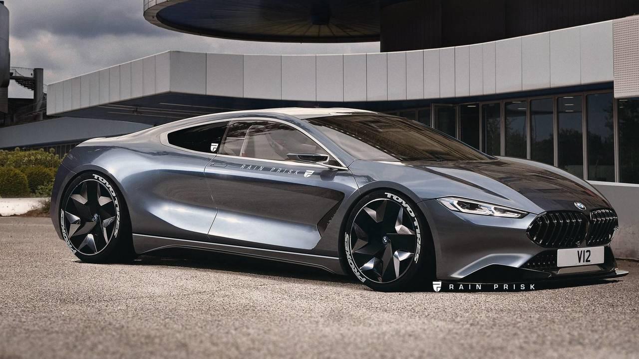 BMW Mid-Engine M8 Render