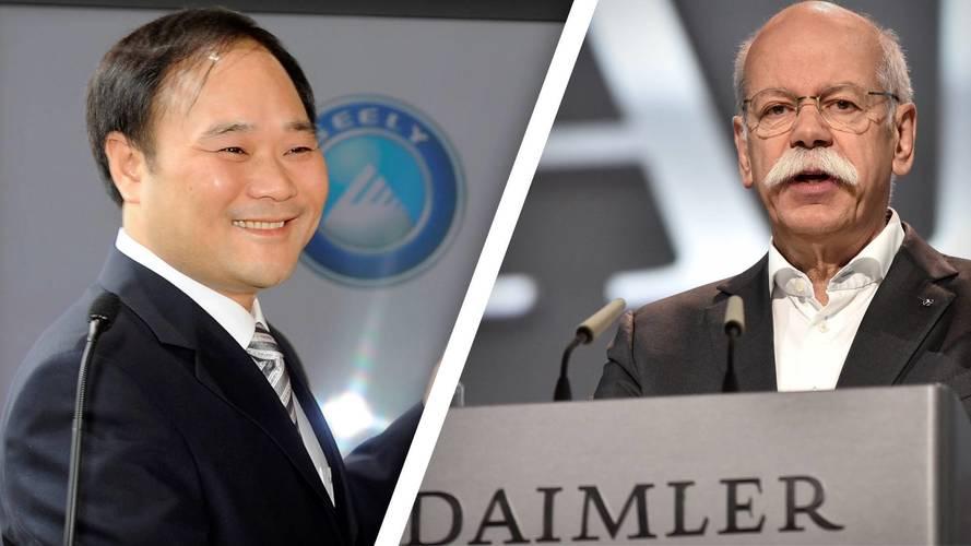 Mercedes e Geely, piani di collaborazione in Cina