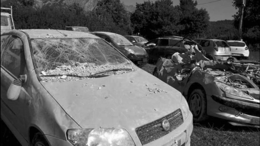 Terremoto, come funziona il risarcimento auto
