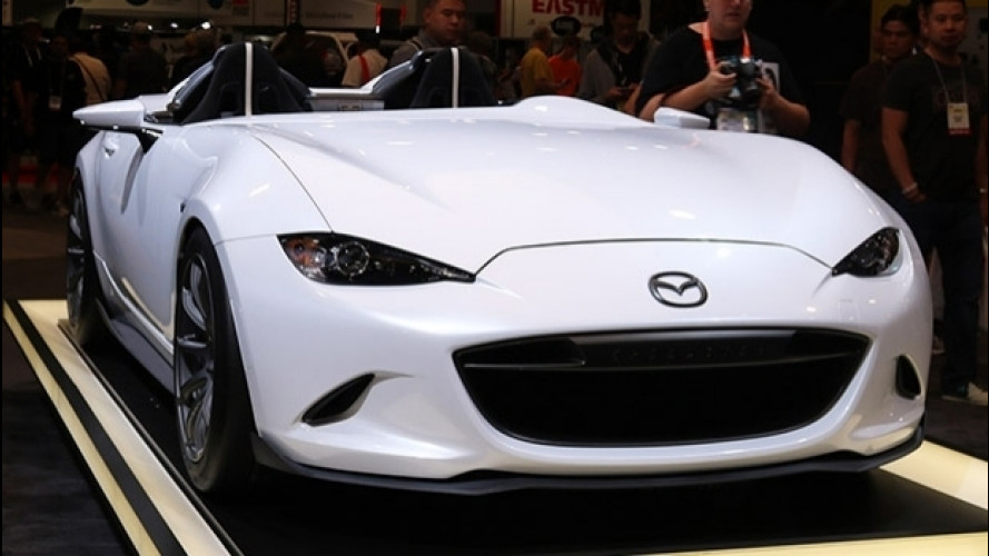 Mazda MX-5 Speedster Evolution, leggera come il vento