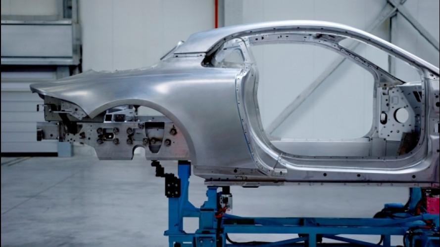 Alpine stradale, anima d'alluminio