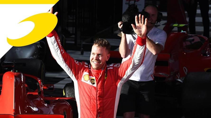 """Vettel: """"Abbiamo avuto un po' di fortuna, ma ce la prendiamo volentieri"""""""