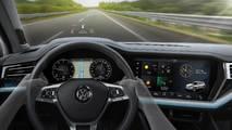 2019 VW Touareg - Head-up display