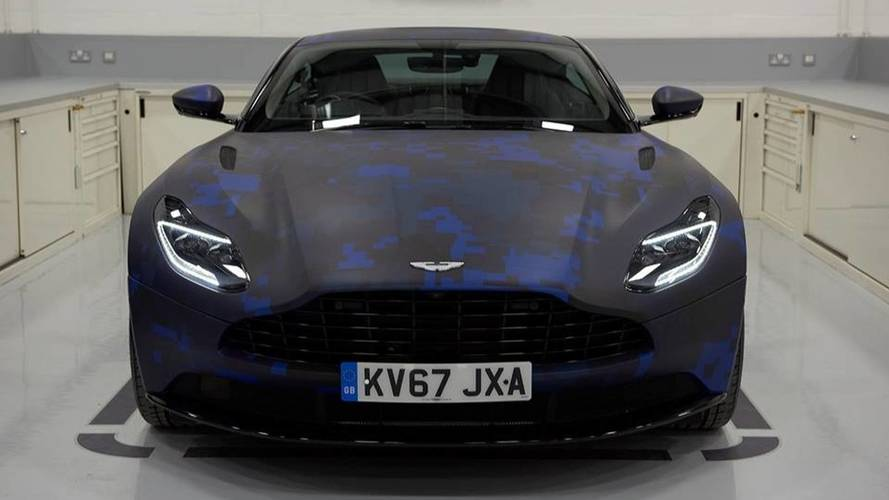 Aston Martin Db11 Looks The Part Wearing Red Bull F1 Livery