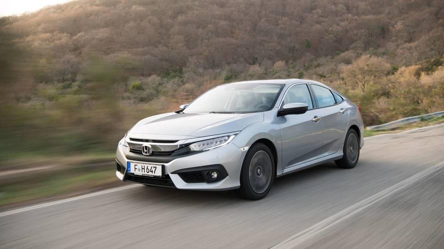 Honda Civic Sedan ve HB'in dizel otomatik fiyatları belli oldu