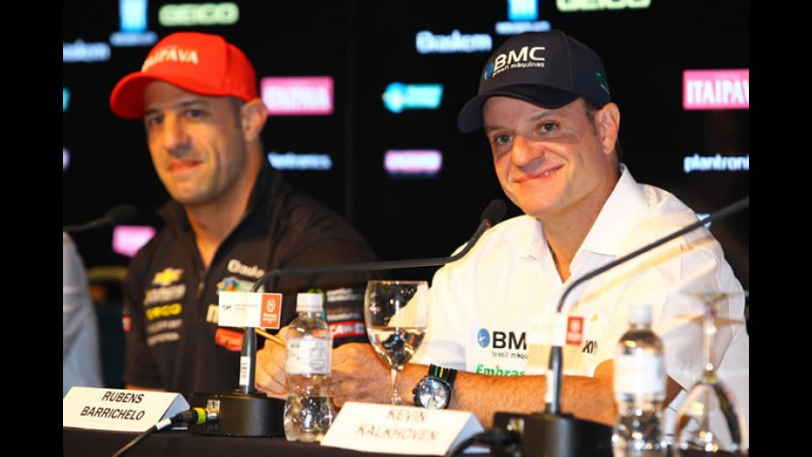 Oficial: Rubens Barrichello correrá na Fórmula Indy 2012