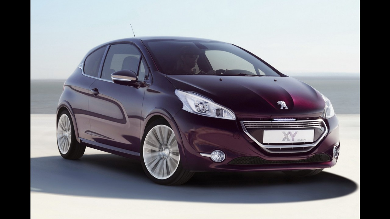Peugeot 208 XY Concept será atração luxuosa da marca no Salão de Genebra