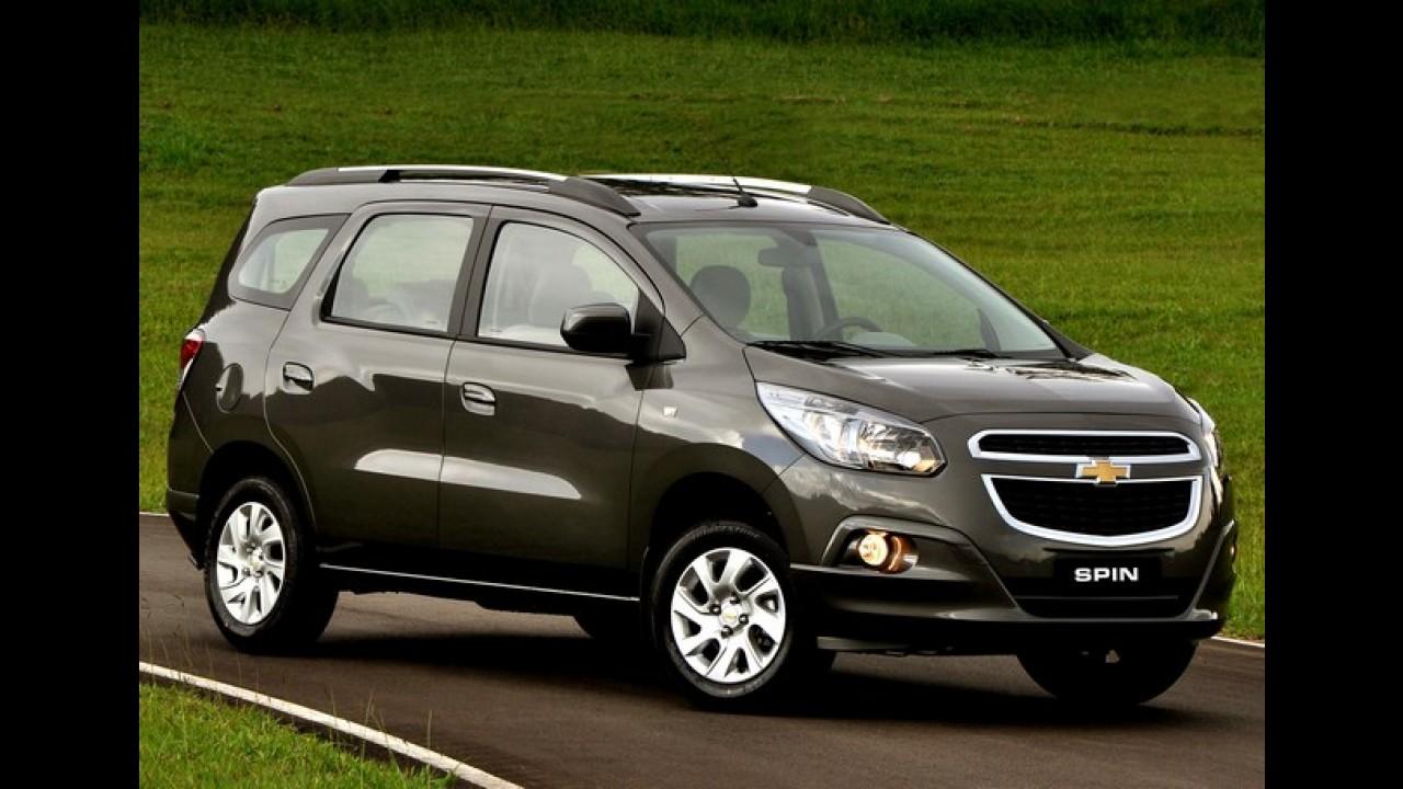 Brasileiros nos EUA: Chevrolet levará Spin e Onix ao Salão de Detroit