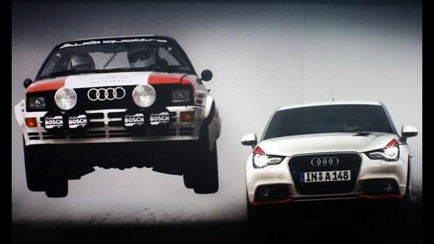 VÍDEO mostra detalhes do novo Audi A1 Competition