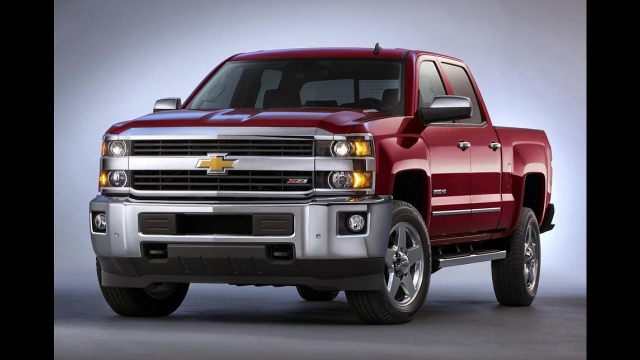 GM: Silverado e utilitários ganham câmbio de oito marchas nos EUA