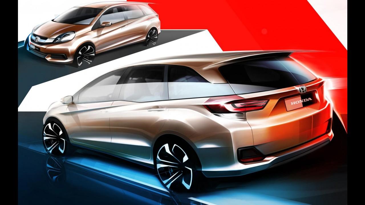 Honda divulga esboço da futura versão minivan do Brio