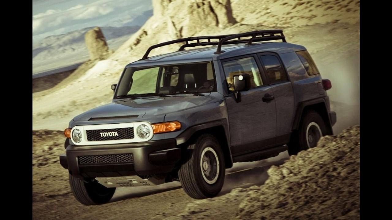 Toyota confirma fim de linha para o FJ Cruiser e lança série especial de despedida