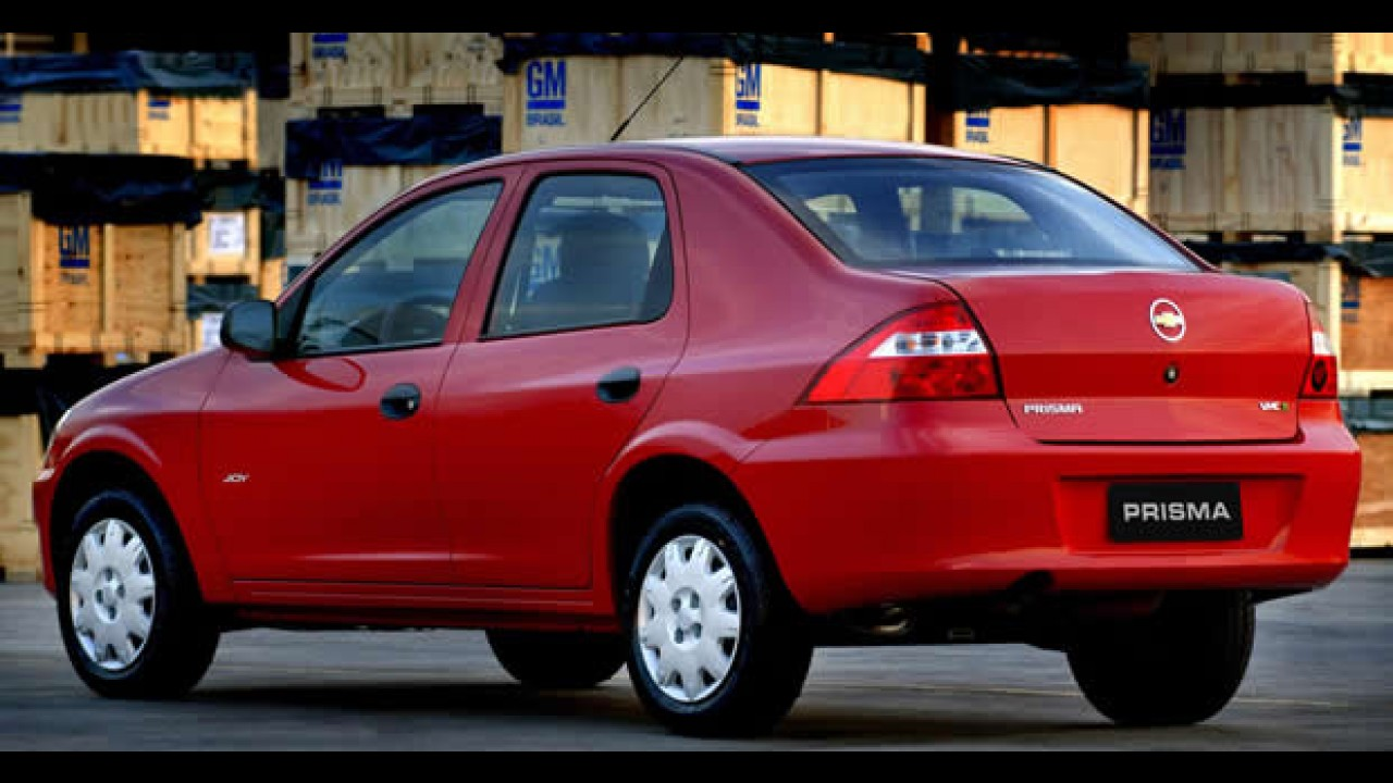 Chevrolet passa a comercializar a linha 2010 do Prisma 1.0 VHCE e 1.4 Econo.Flex