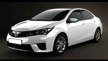 Imagens em 3D revelam suposto Corolla que será apresentado dia 6 de junho