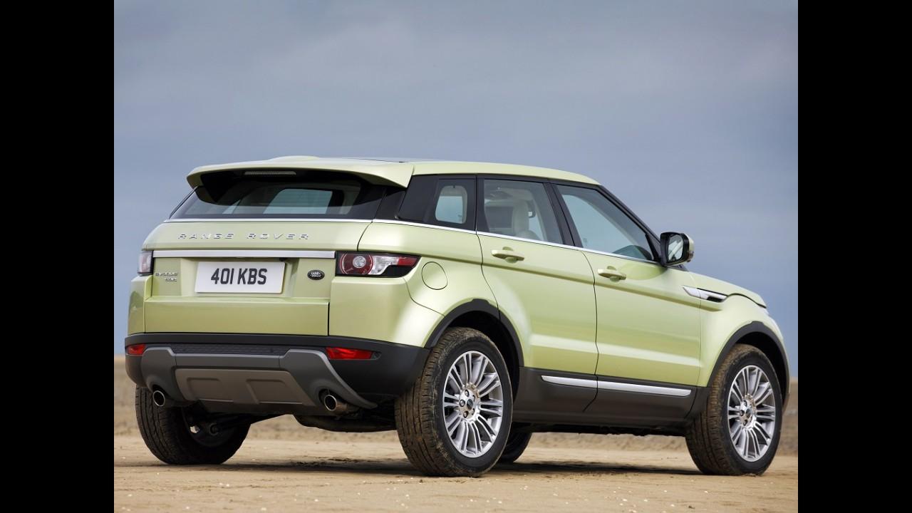 Land Rover lança Evoque a diesel na Argentina por R$ 242.400