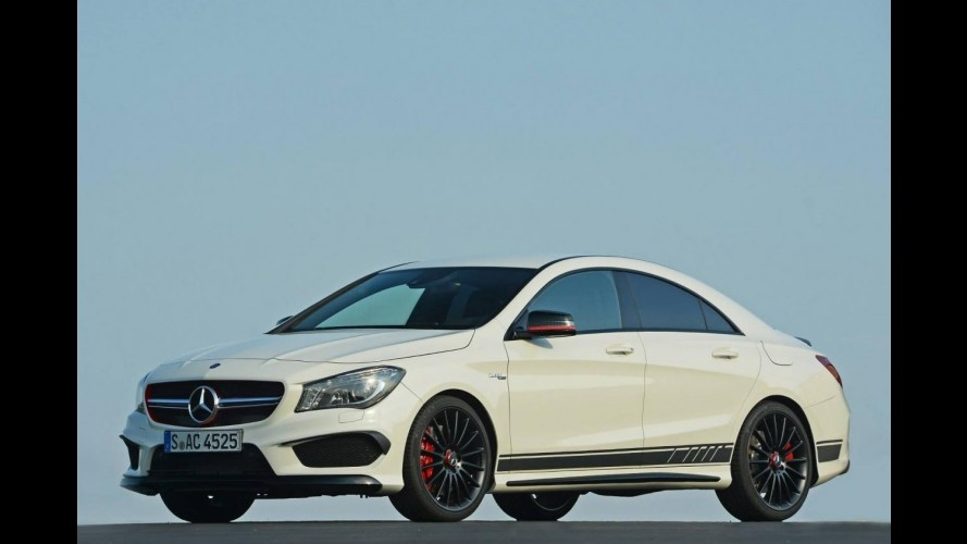 Mercedes anuncia CLA 45 AMG Edition 1 no mercado europeu