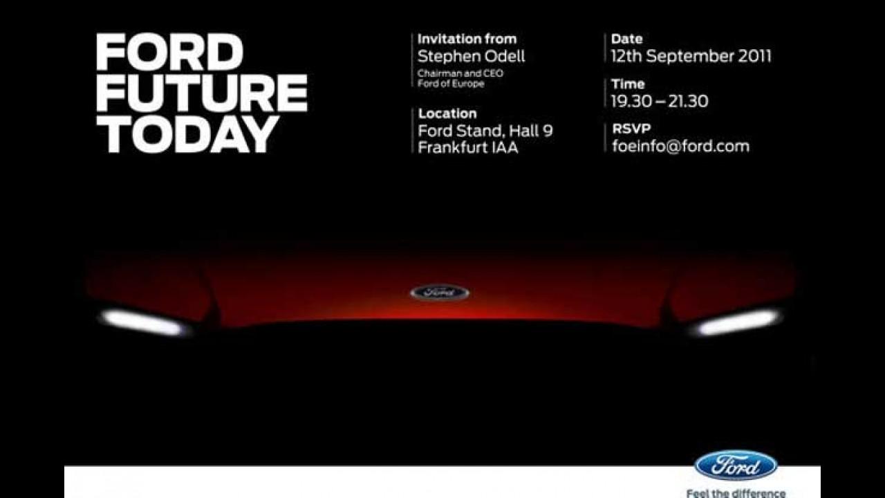 Ford mostrará quatro modelos em Frankfurt, incluindo um conceito global