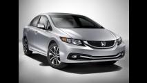 Novo Honda Civic 2013 é lançado no México - Preço inicial é equivalente a R$ 41.010