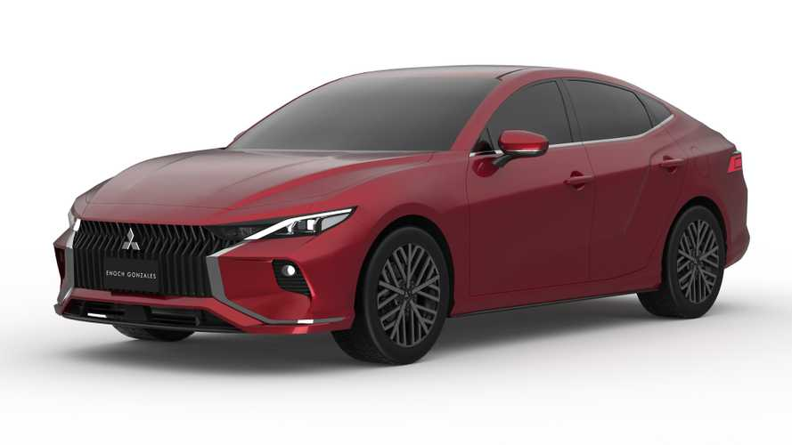 Mitsubishi Lancer Reimagined As Sleek Sedan In Unofficial Renderings