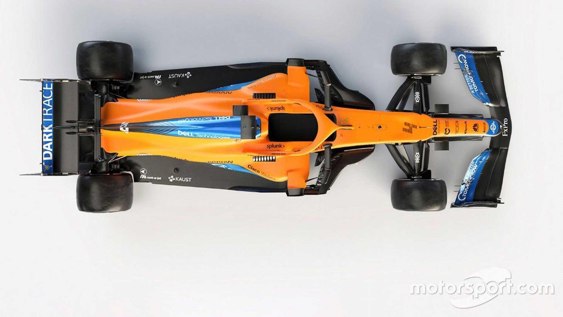 McLaren MCL35M reveal studio shot