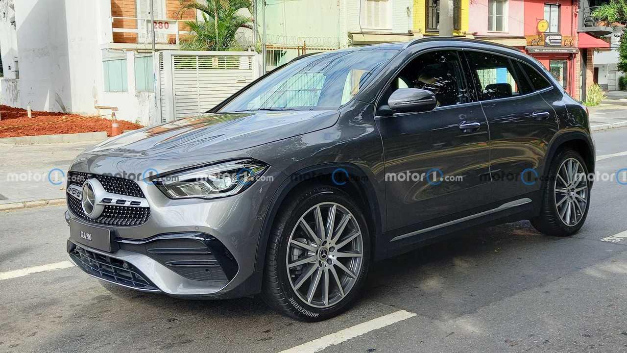 Flagra: Mercedes-Benz GLA 200 (BR)