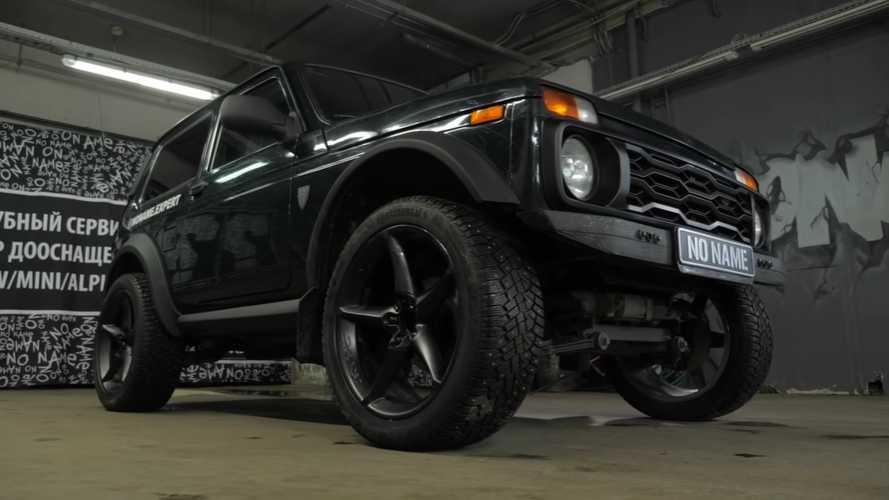 Lada Bronto Is A BMW-Powered Niva With 20-Inch Wheels