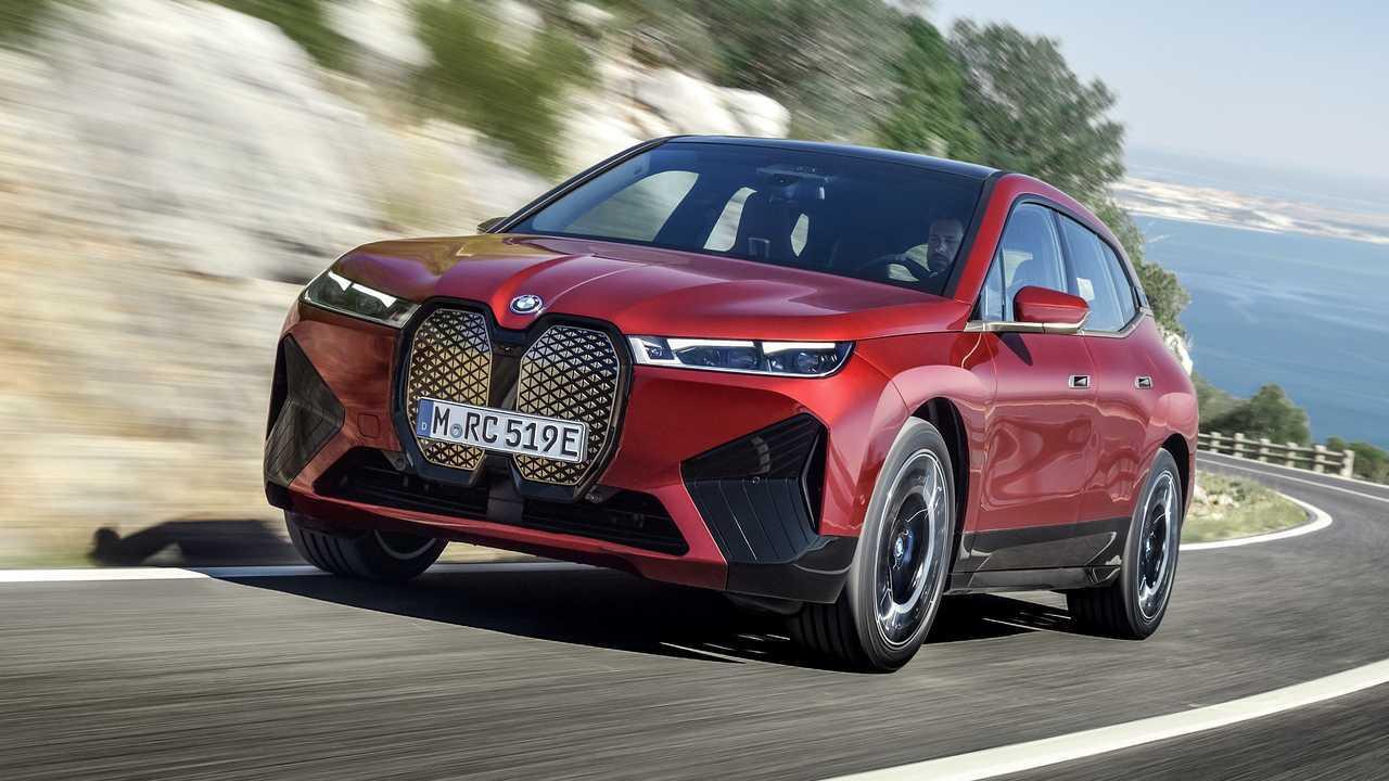 BMW iX (ab Ende 2021)