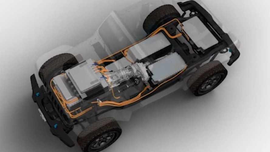 Jeep Wrangler BEV Konsepti