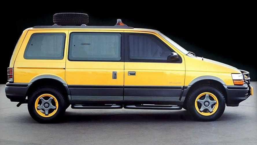 Dodge Caravan off-road concept