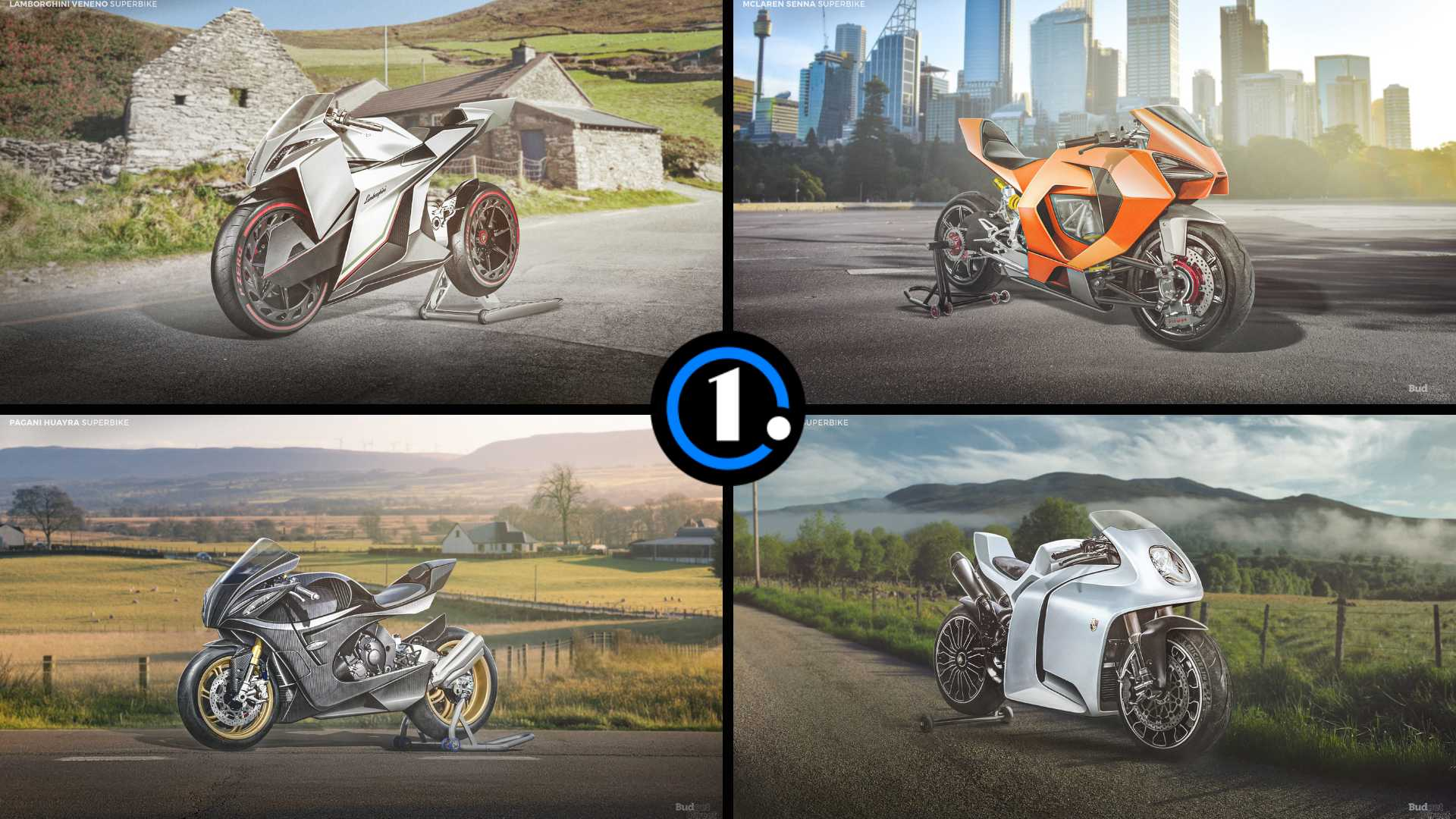 Superbikes From Supercar Companies