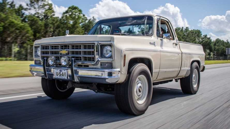 This 'New' Chevy Square Body Truck Takes Away The Pain Of Rebuilding One