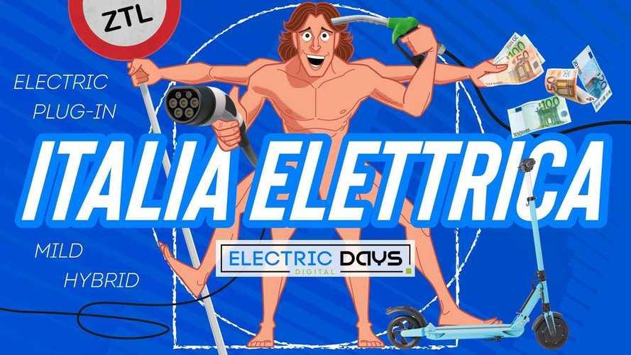 Italiani e auto elettrica, a che punto siamo? Lo studio agli Electric Days