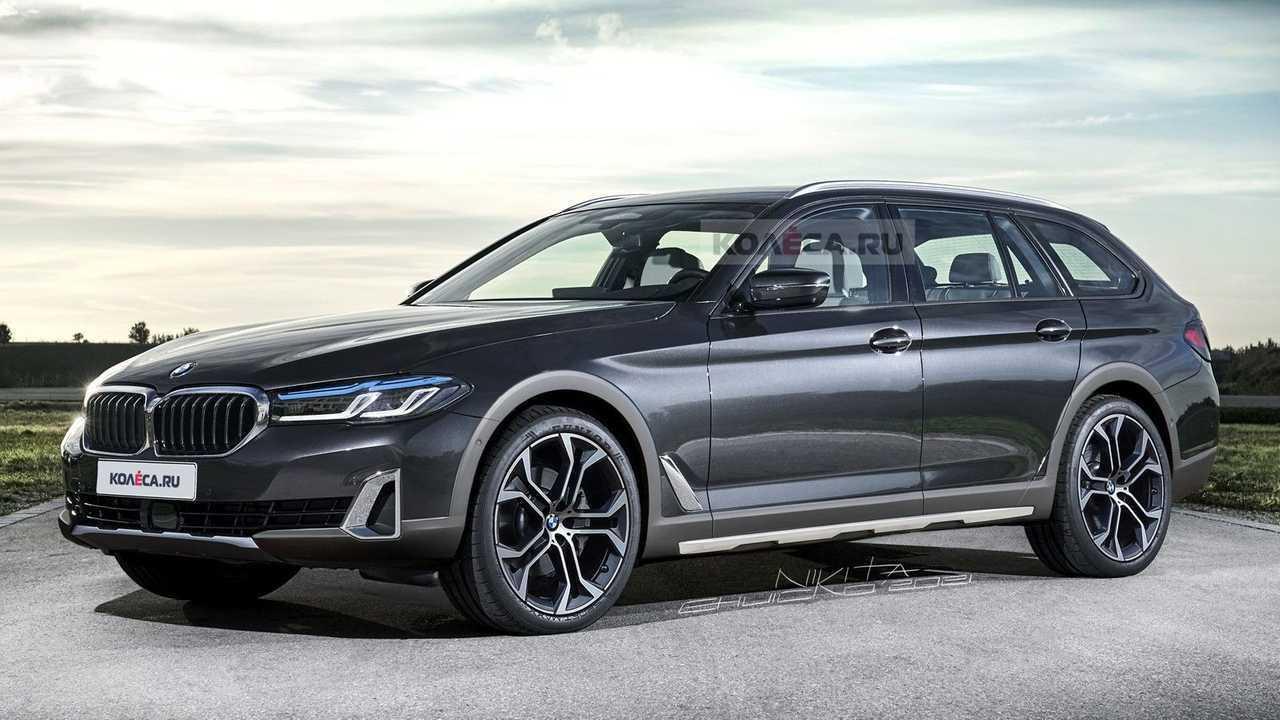 BMW 5 Series rugged wagon