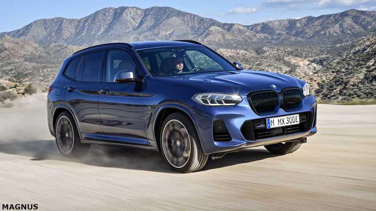 BMW iX3 2022 - projeção
