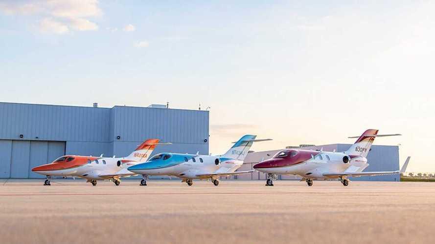 Tak Hanya Mobil, Honda Juga Punya Lebih dari 170 Pesawat Jet